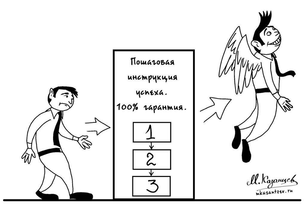 Пошаговые инструкции|Михаил Казанцев|Рисунки и инфографика