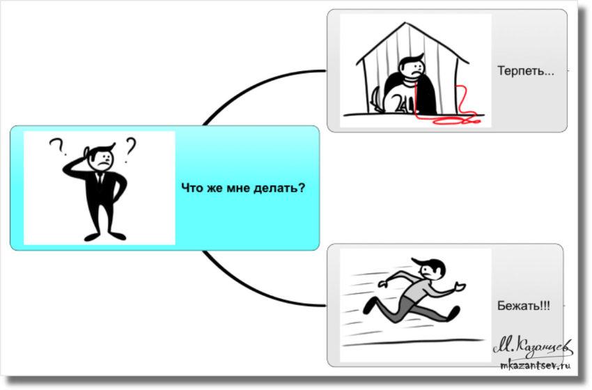 Как не сбежать от жены?|Рисунки и инфографика Михаила Казанцева|