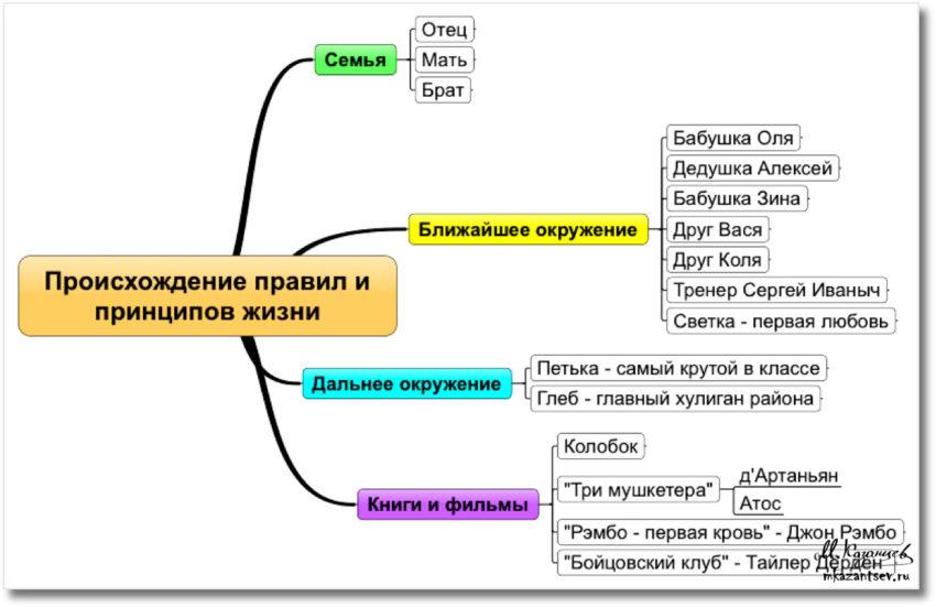 Правила и принципы жизни|Инфографика Михаила Казанцева