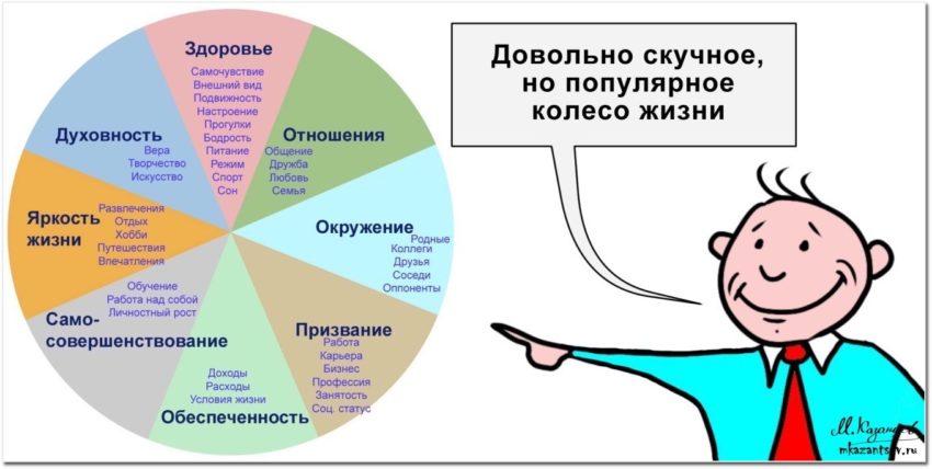 Колесо жизни | Инфографика Михаила Казанцева