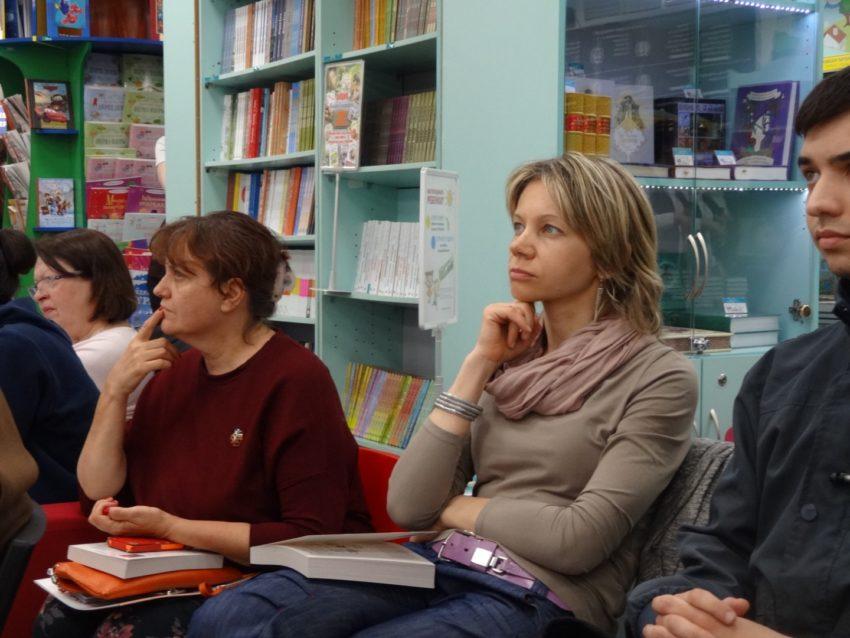 Участники лекции Михаила Казанцева в Москве