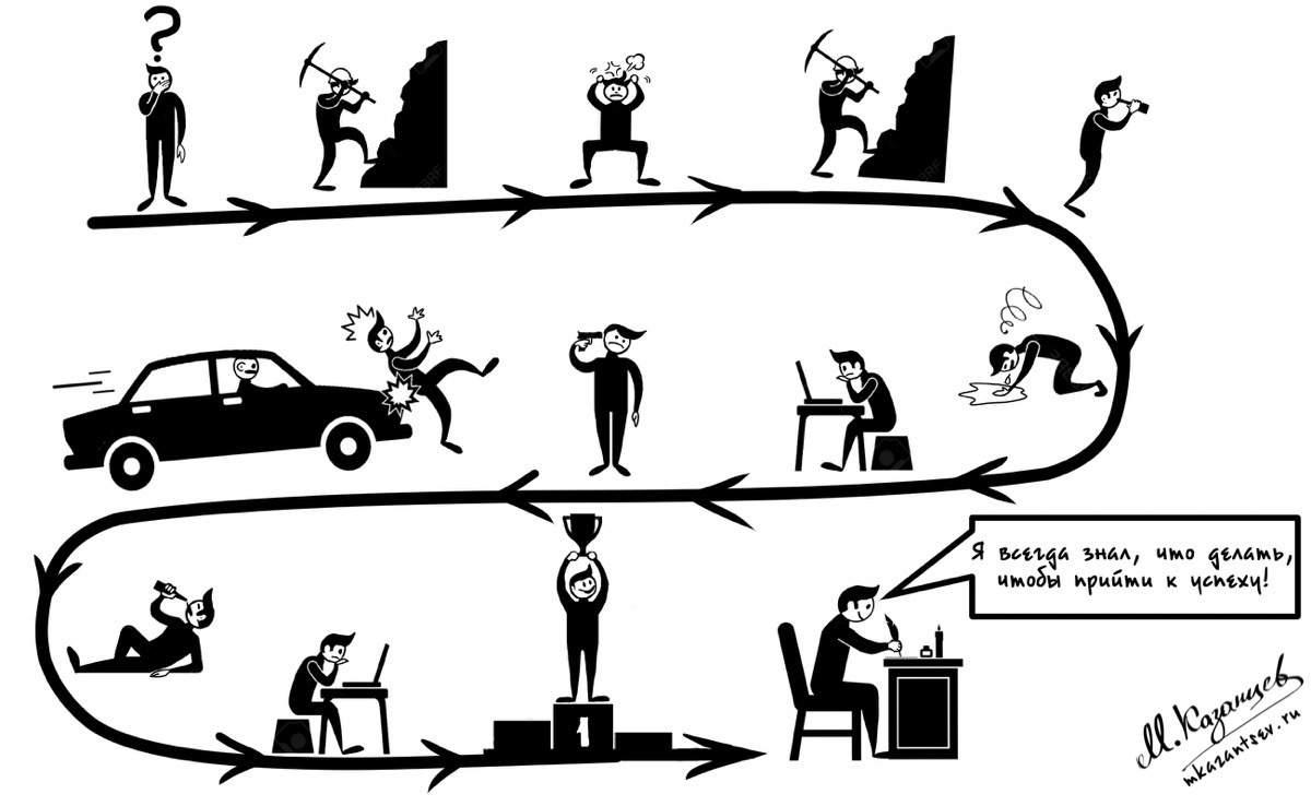 Почему неудачники любят истории успеха?