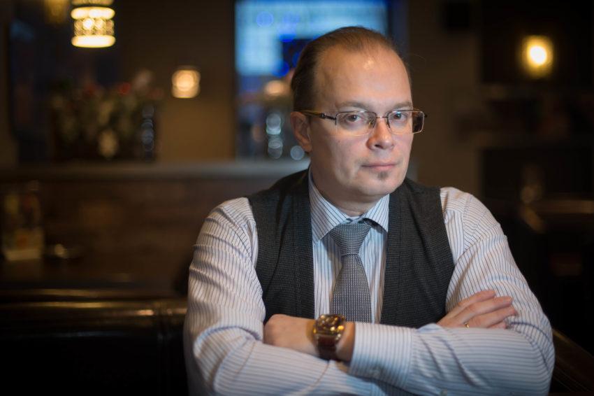 Михаил Казанцев. Фотопортрет Александра Беленького